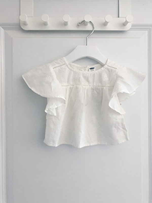 Old Navy baby blouse | 3-6m