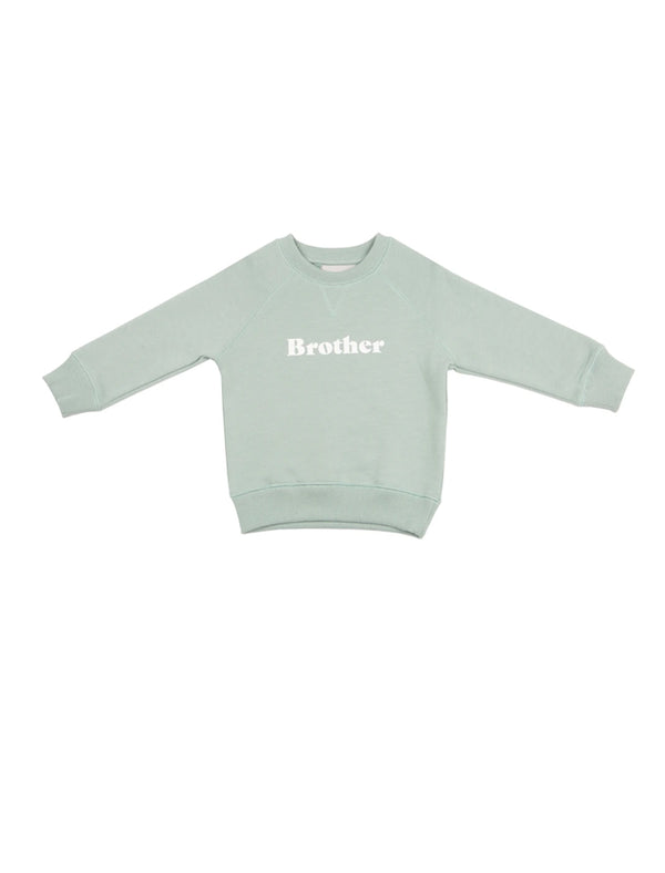 Brother oversized sweatshirt - sage green