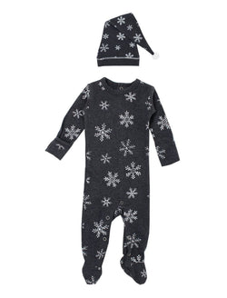 Lovedbaby | Organic sleeper + cap set - frost