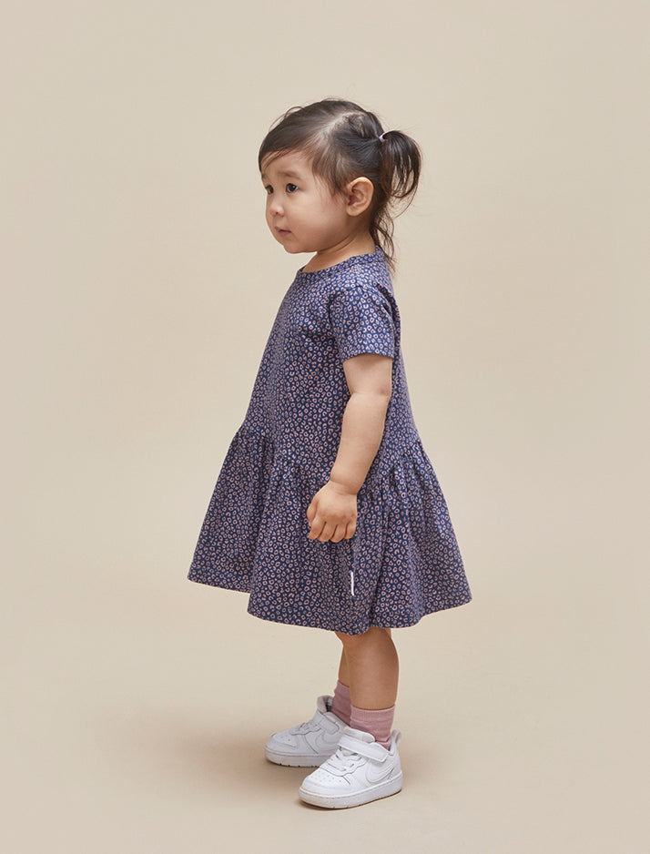 Huxbaby | Ditzy animal drop waist dress