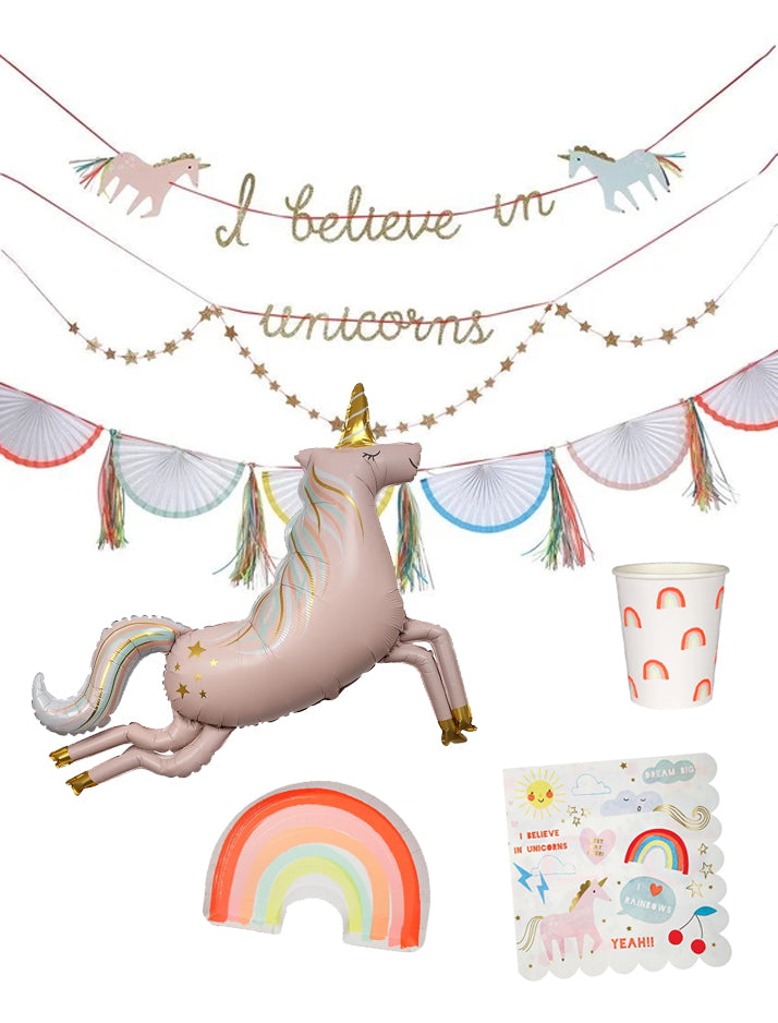 Meri Meri | Unicorn party kit