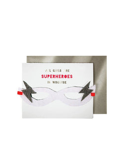 Meri Meri | 'Girl superhero' card