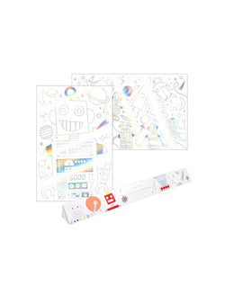 Meri Meri | Space colouring posters