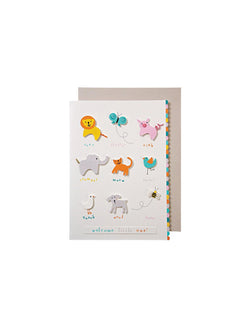 Meri Meri | 'Baby' animal sounds card
