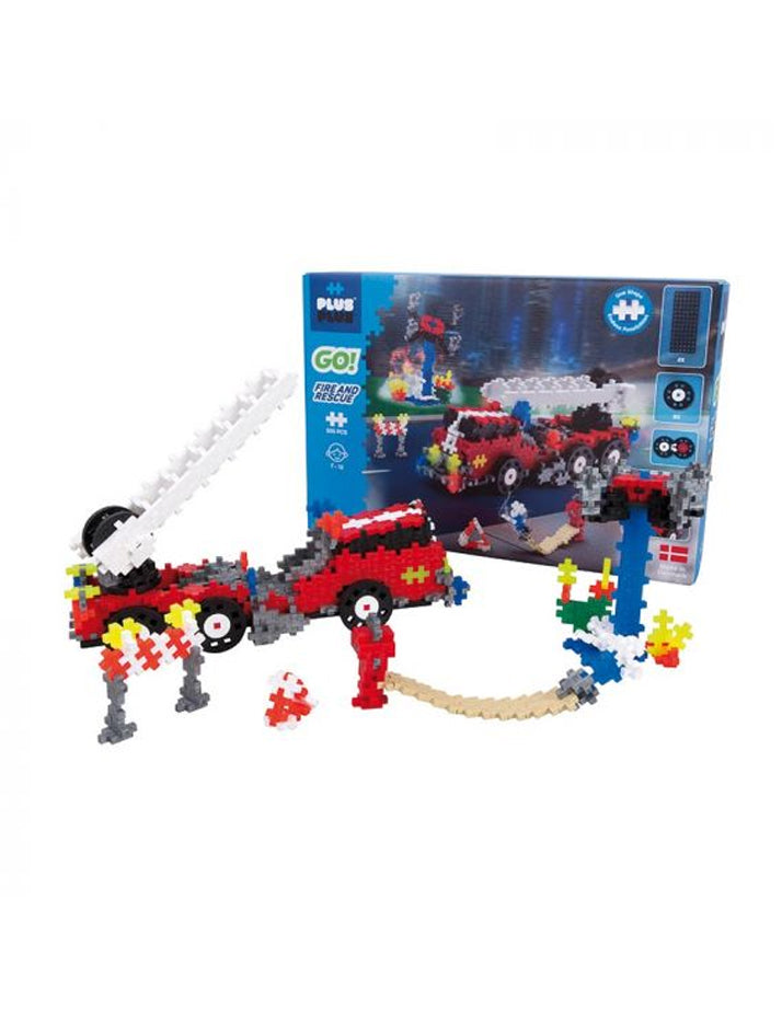 Plus Plus | GO! Fire and rescue set