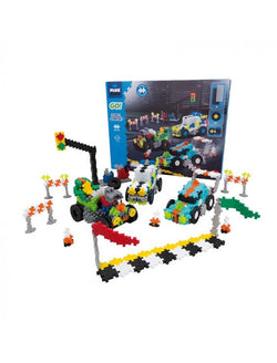 Plus Plus | GO! Street racing super set