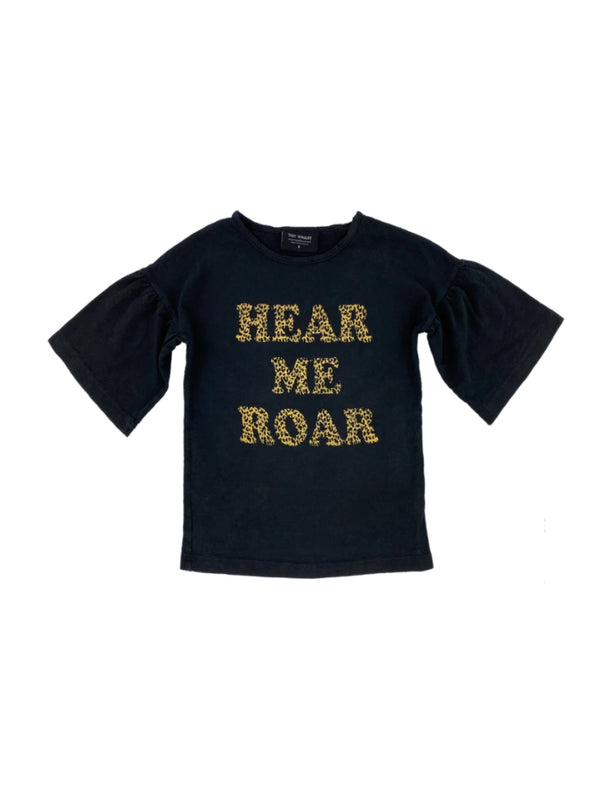 Tiny Whales | Hear me roar - bell sleeve tee