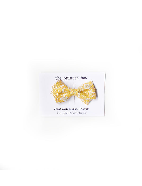 Goldie twist bow