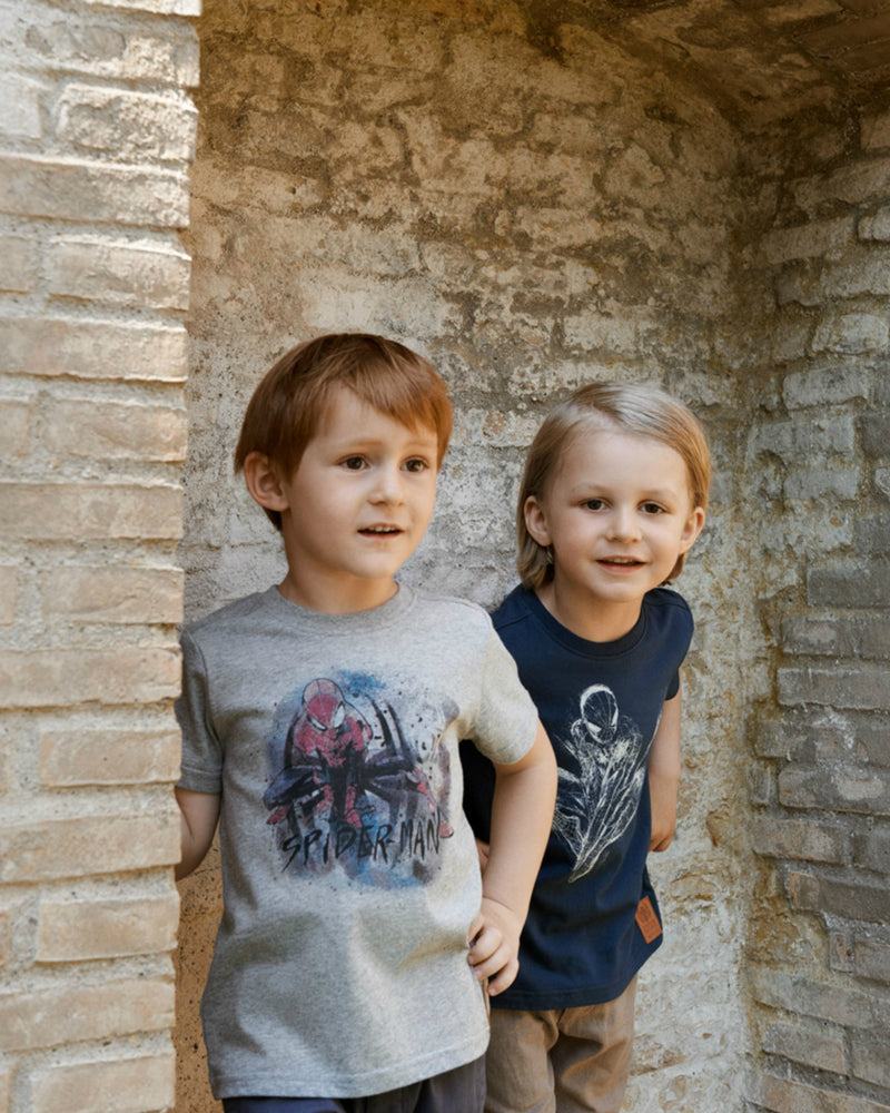 Wheat Kids | Spider man tee - navy