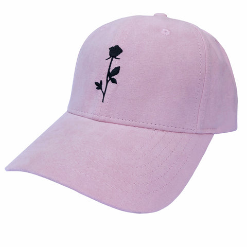 Rose Dad Cap Pastel Pink