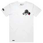 Certain Death Tall Tee White