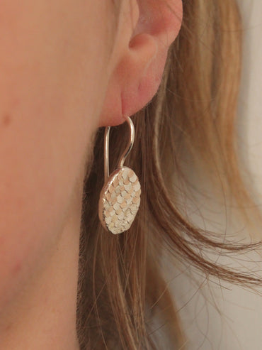 Siren drop earrings