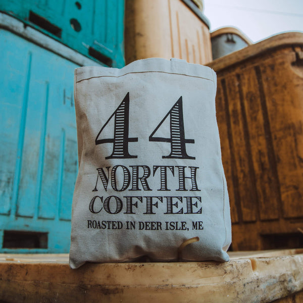 44 North Canvas Tote Bag - 44 North Coffee