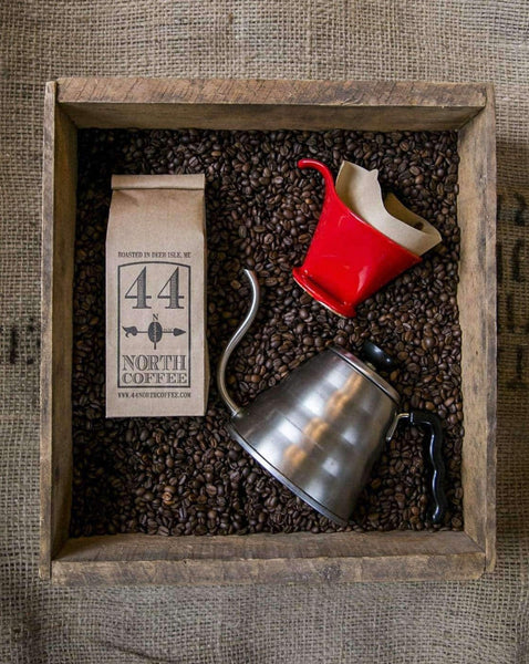 Pour Over Kit - The Delux - 44 North Coffee