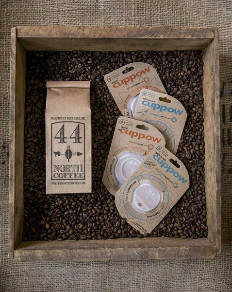 Coffee & Cuppow Lid Gift Set - 44 North Coffee