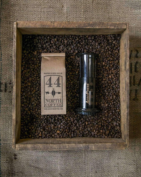 Coffee & Aeropress Gift Set - 44 North Coffee