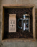 Coffee + a French Press (3 or 8 cup ) - 44 North Coffee