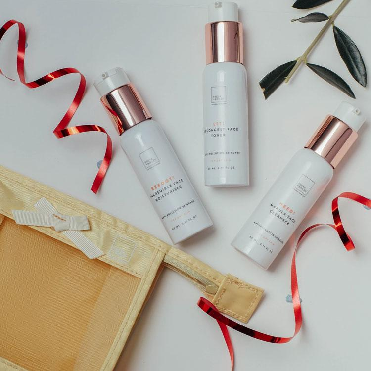 CRAY! FACE RESTORE TRAVEL KIT (DRY SKIN TYPE) Free Travel Bag - Freya + Bailey Natural Skincare