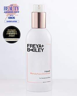 HEED! MARULA FACE CLEANSER - Marula Oil + Vitamin A + Apricots ( Dehydrated Skin) - Freya + Bailey Skincare