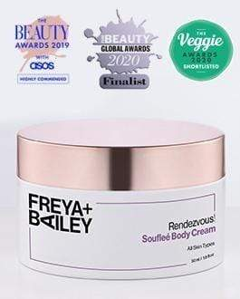 RENDEZVOUS! BODY MOISTURISER WITH COCONUT + 5 MULTIVITAMINS COMPLEX (ALL SKIN TYPES) - Freya + Bailey Skincare