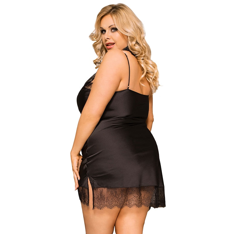 Plus Size Soft Silk Satin Lingerie - GORGEOUS 271, LLC