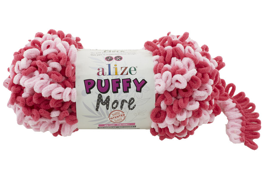 Пряжа Alize Puffy More (6274)