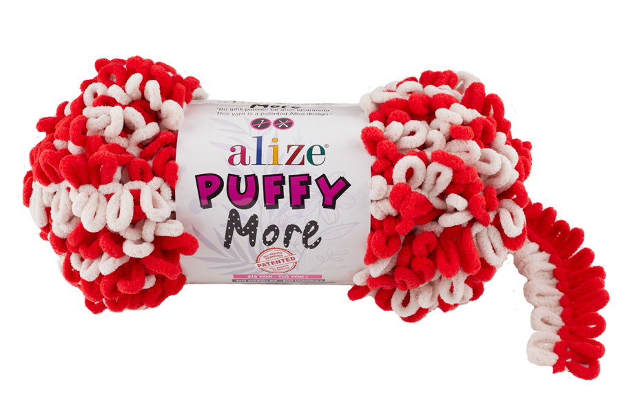 Пряжа Alize Puffy More (6286)