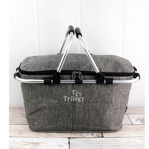 Trilogy- Collapsible Insulated Zip Market Basket