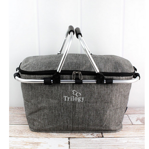 Trilogy- Collapsible Insulted Zip Market Basket