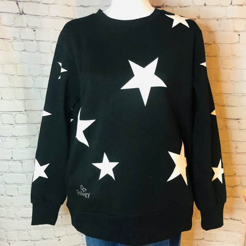 Trilogy Star Sweatshirt with Pockets