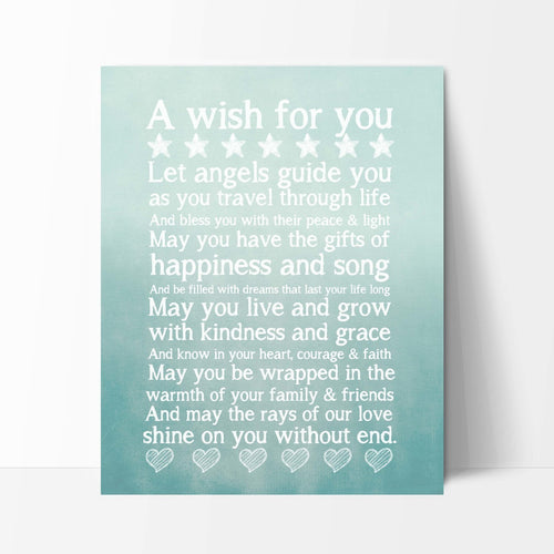 A Wish for You Blue Print