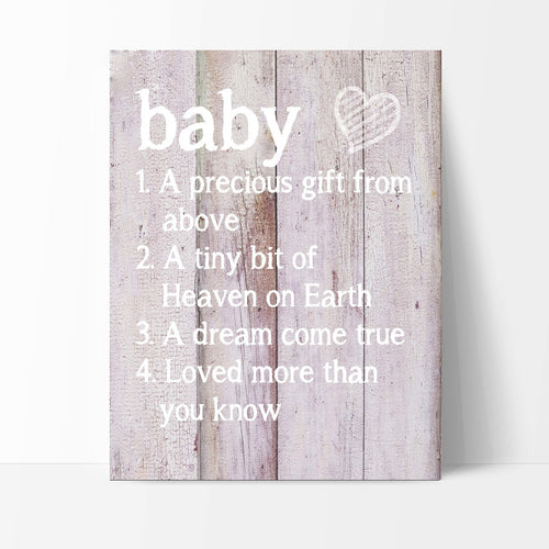 Baby Definition Print