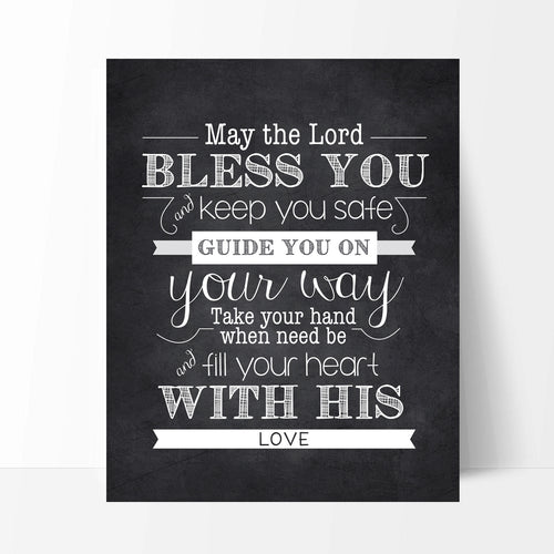 May The Lord Print
