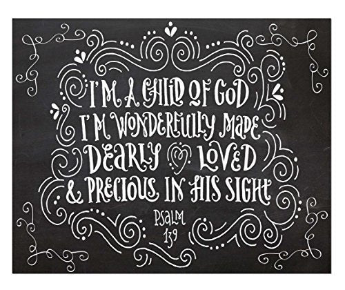 Child of God Quote Print