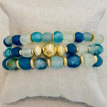 Load image into Gallery viewer, Seaglass Bracelet Stack