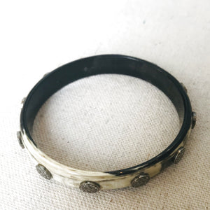 Horn And Diamond Bangle