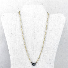 Load image into Gallery viewer, Gold Filled Cable Chain With Pave Diamond Lobster