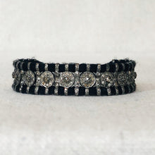 Load image into Gallery viewer, Diamond And Macrame Bracelet