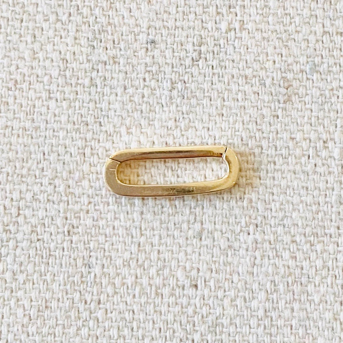 14 K Paperclip Connector
