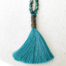 Load image into Gallery viewer, Turquoise Necklace With Tassel