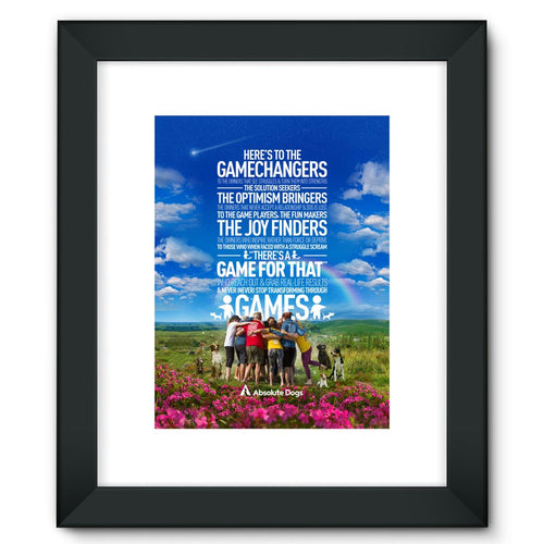 GameChanger - A Day In The Life Framed Fine Art Print
