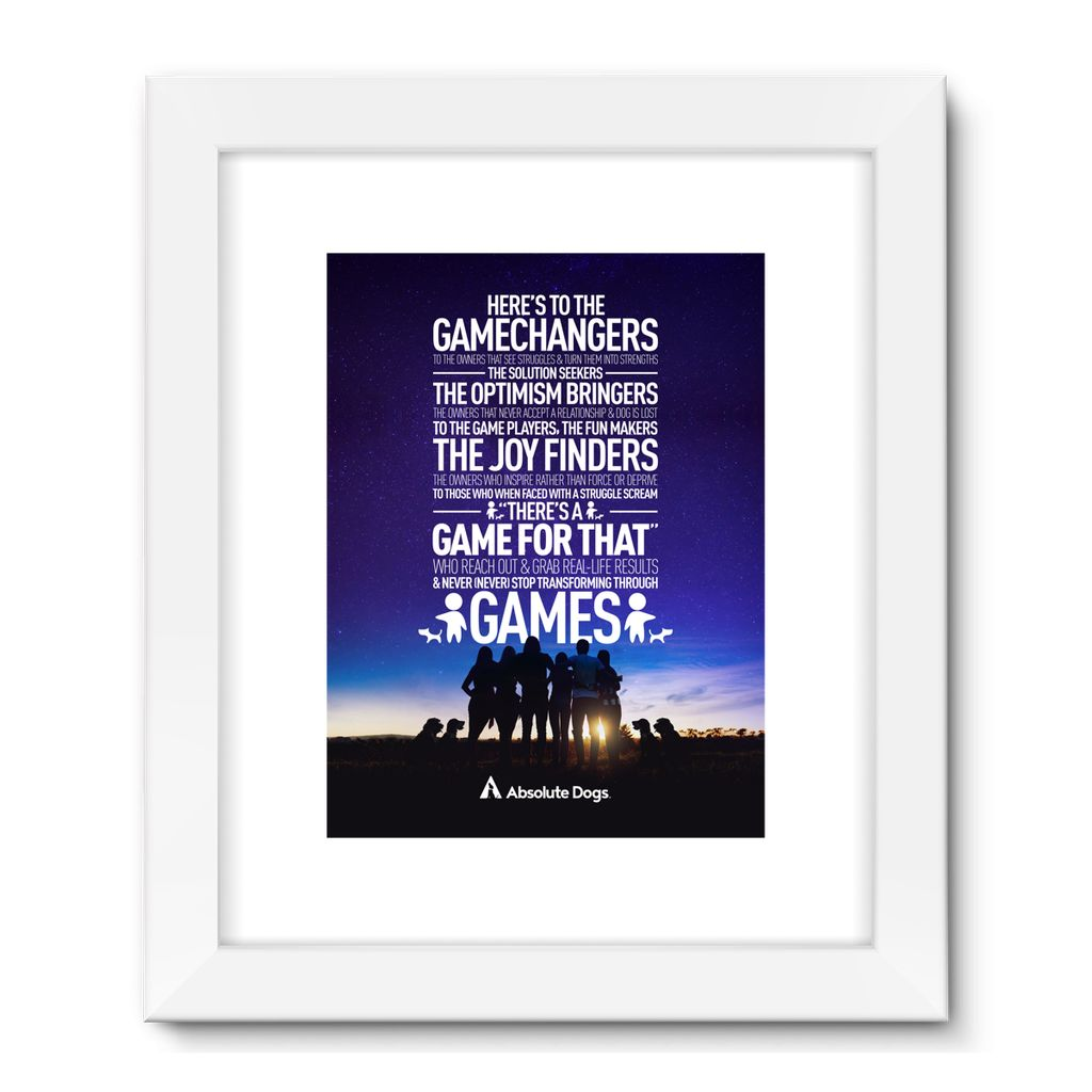 GameChanger - Night Life Framed Fine Art Print