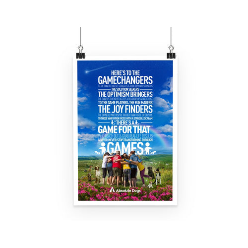 GameChanger - A Day In The Life Poster