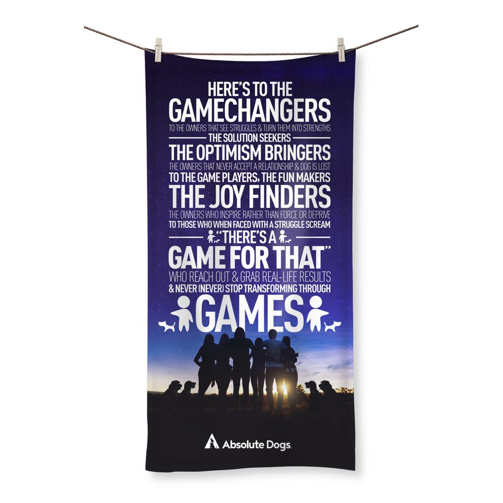 GameChanger - Night Life Beach Towel