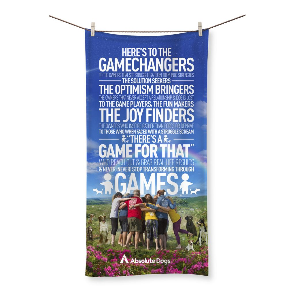 GameChanger - A Day In The Life Beach Towel
