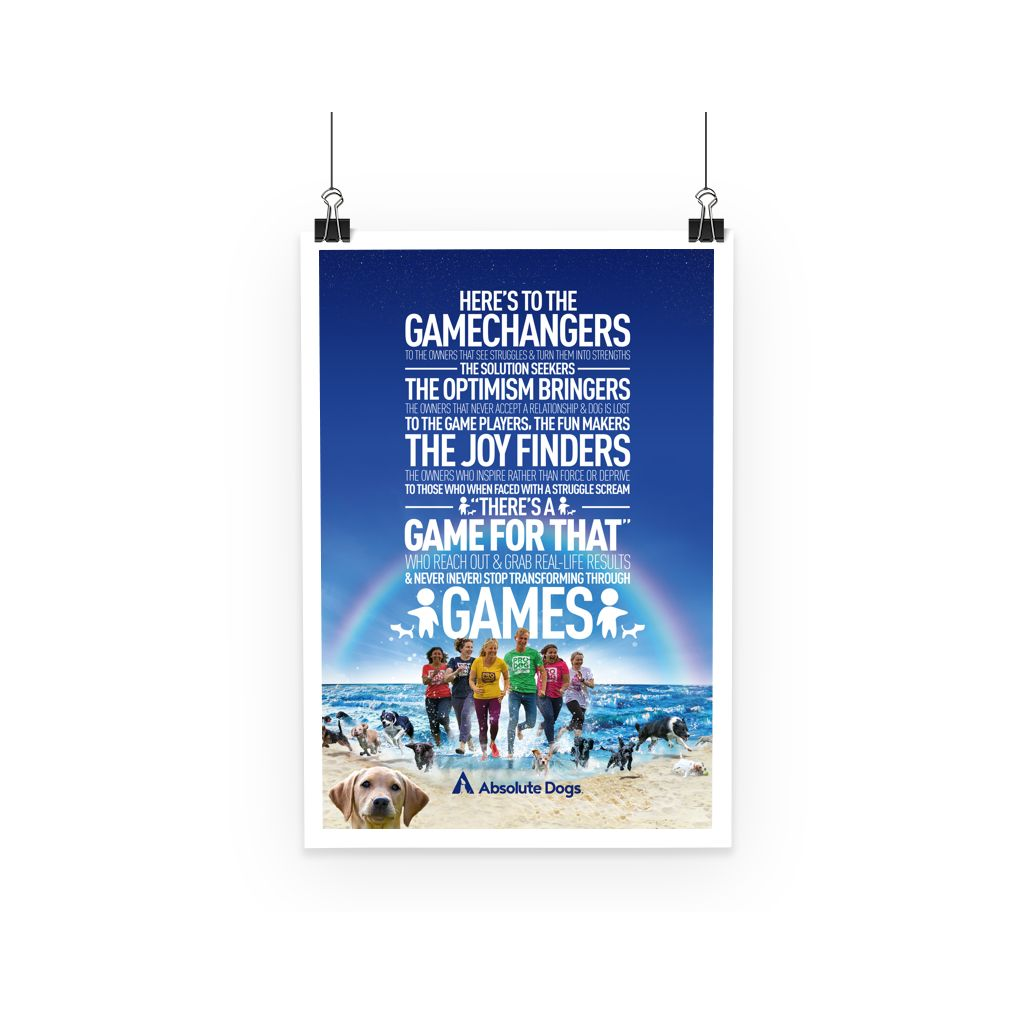 GameChanger - Life's A Beach Poster