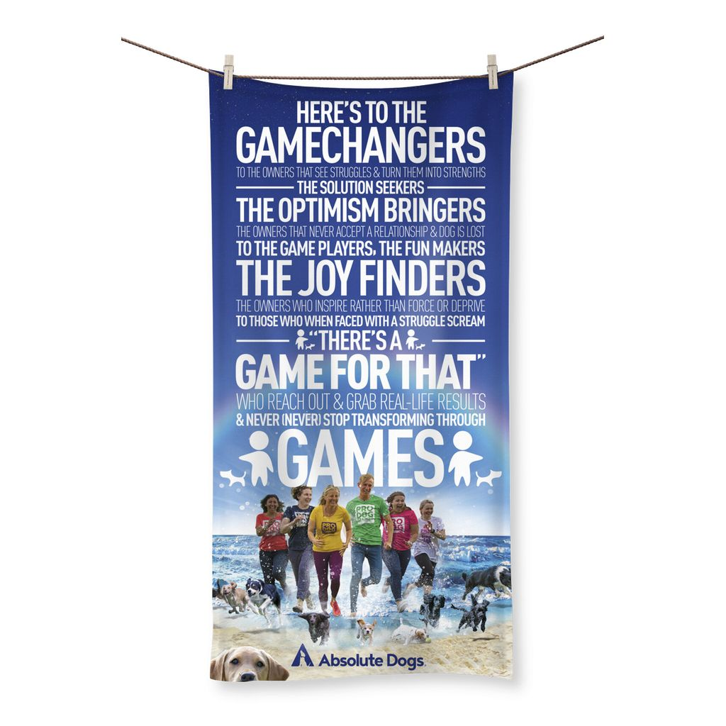 GameChanger - Life's A Beach Beach Towel