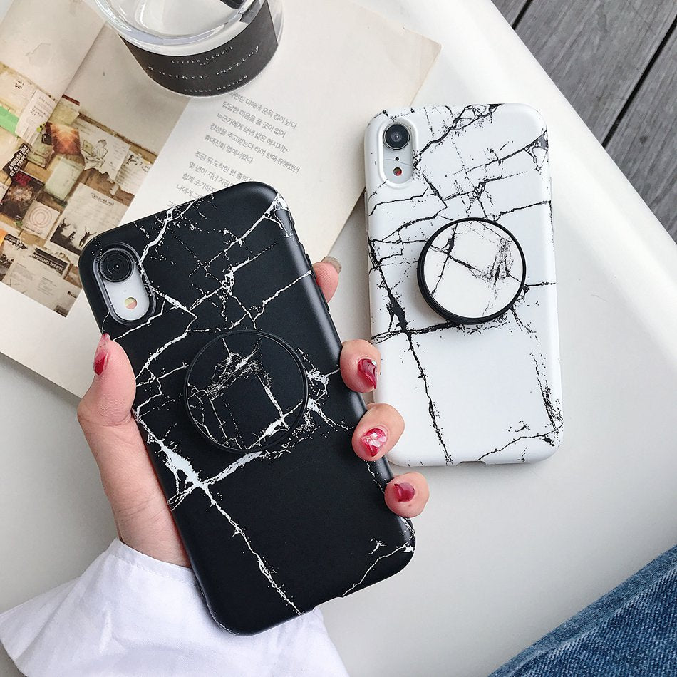 Classic Marble iPhone Case - LittleCurvyQueen