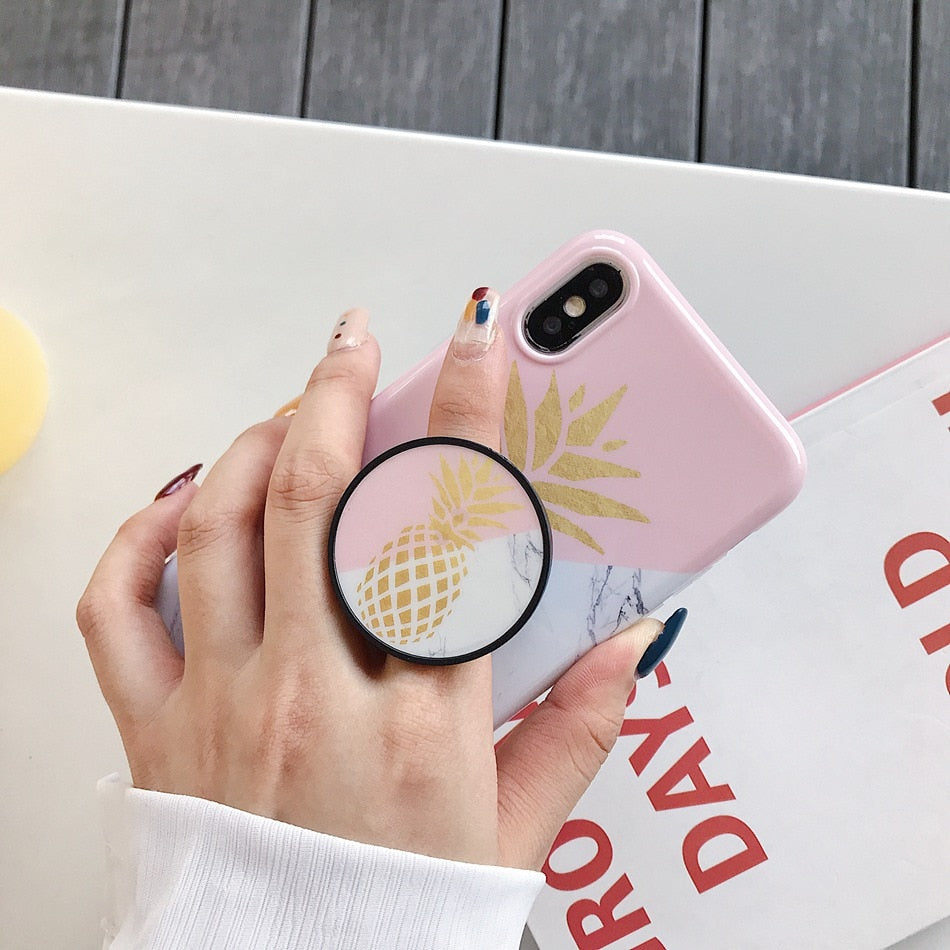Pineapple iPhone Case - LittleCurvyQueen