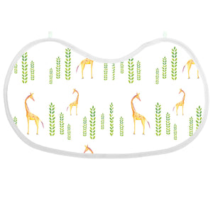 Single Burp Snap Muslin Bib